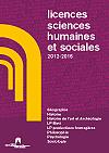 Licences Sciences Humaines et Sociales de l'UFR SLHS