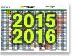 Calendrier 2015-2015 UFR SLHS