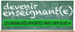 Devenir enseigant(e)